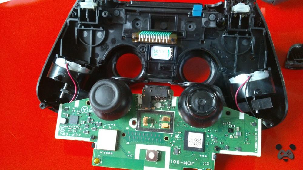 Poradnik wymiana analoga ps4 operacja panda Image00030