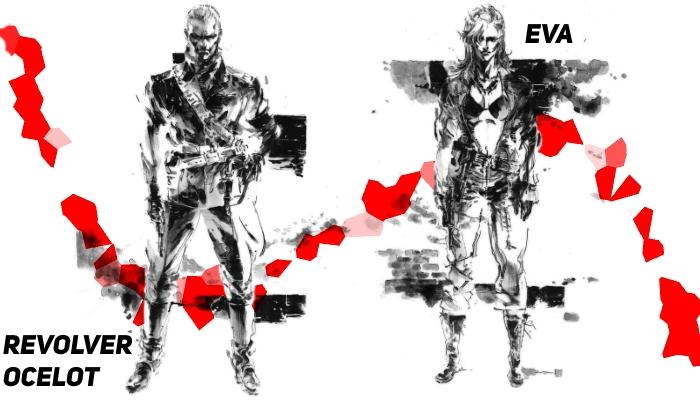 revolver ocelot and eva fabula serii mgs cz1