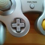 krzyżak w kontrolerze do gamecube
