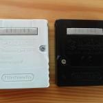 tył kart pamięci do nintendo gamecube
