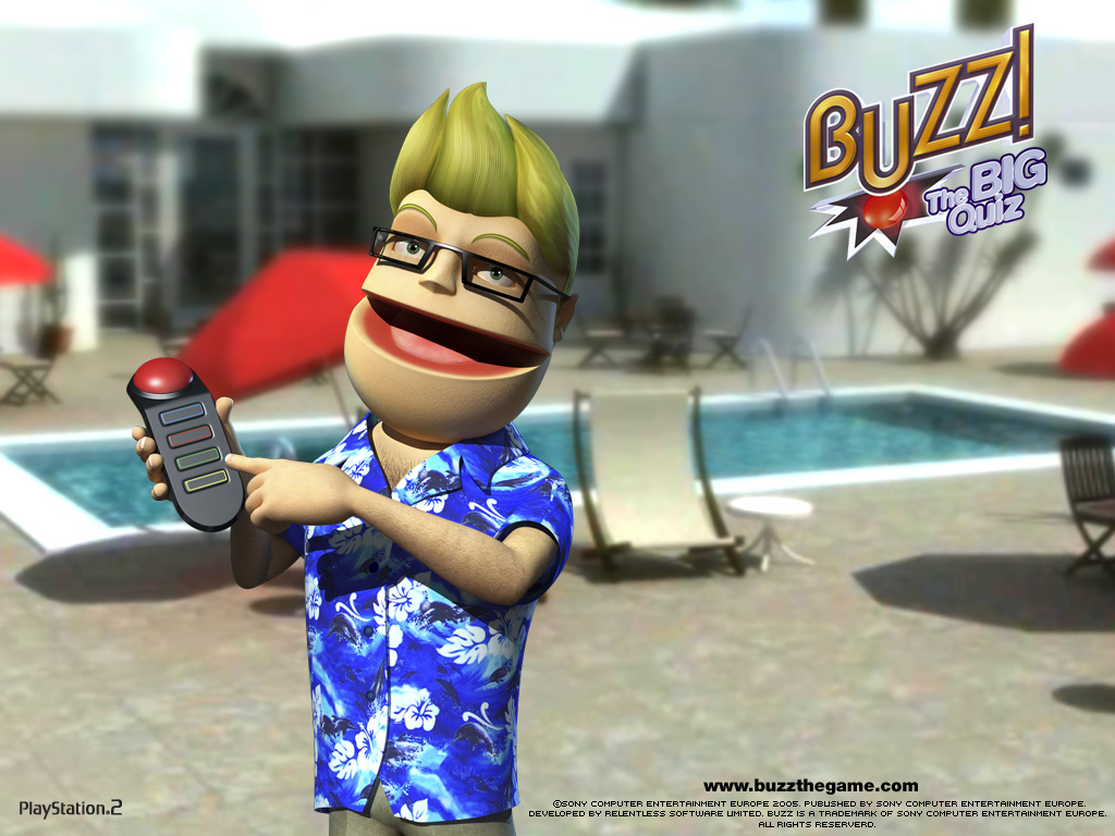 Buzz i kontroler Buzzer playstation 2