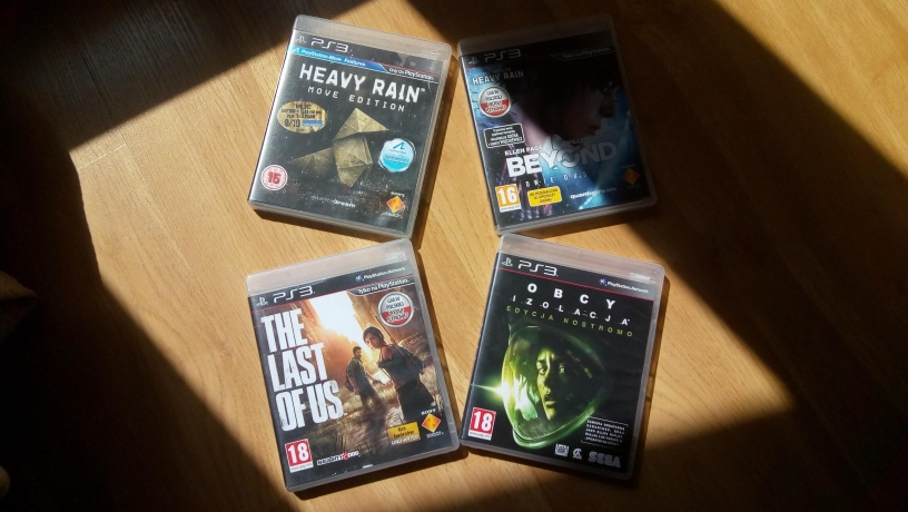Heavy Rain, Beyond Two Souls, The Last of Us, Obcy Isolation
