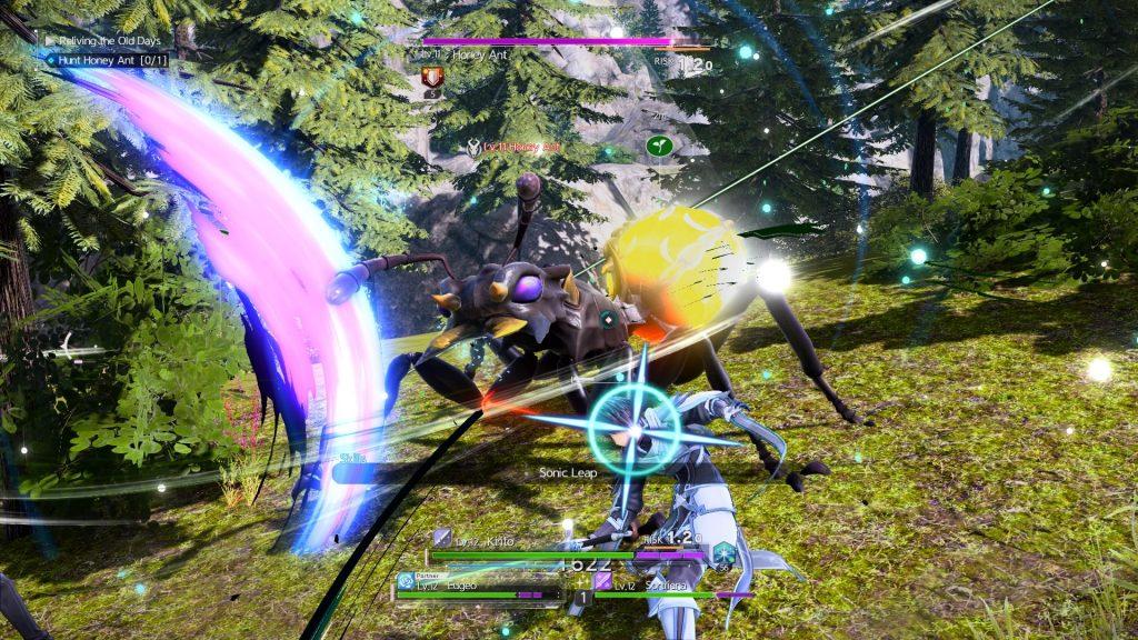 W Sword Art Online będziemy też walczyć z wielkimi mrówkami