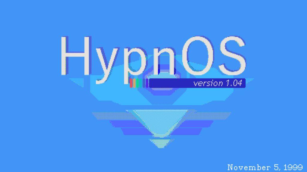 hypnos 1.04 boot logo