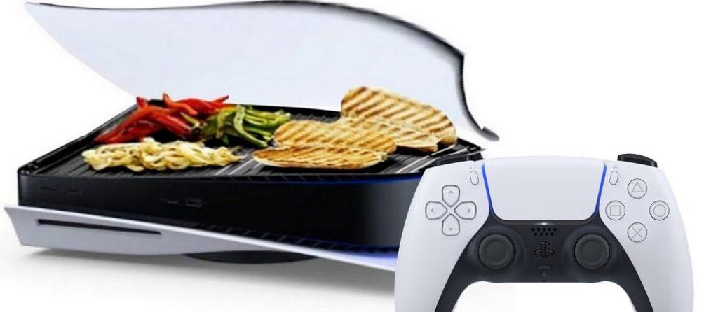 playstation 5 jako grill