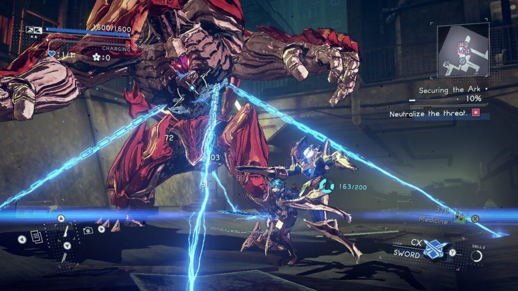 walka w Astral Chain na Ninendo Switch
