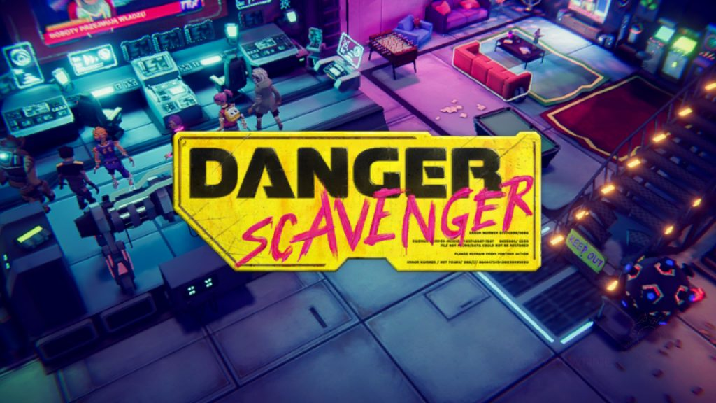 Danger Scavenger title screen