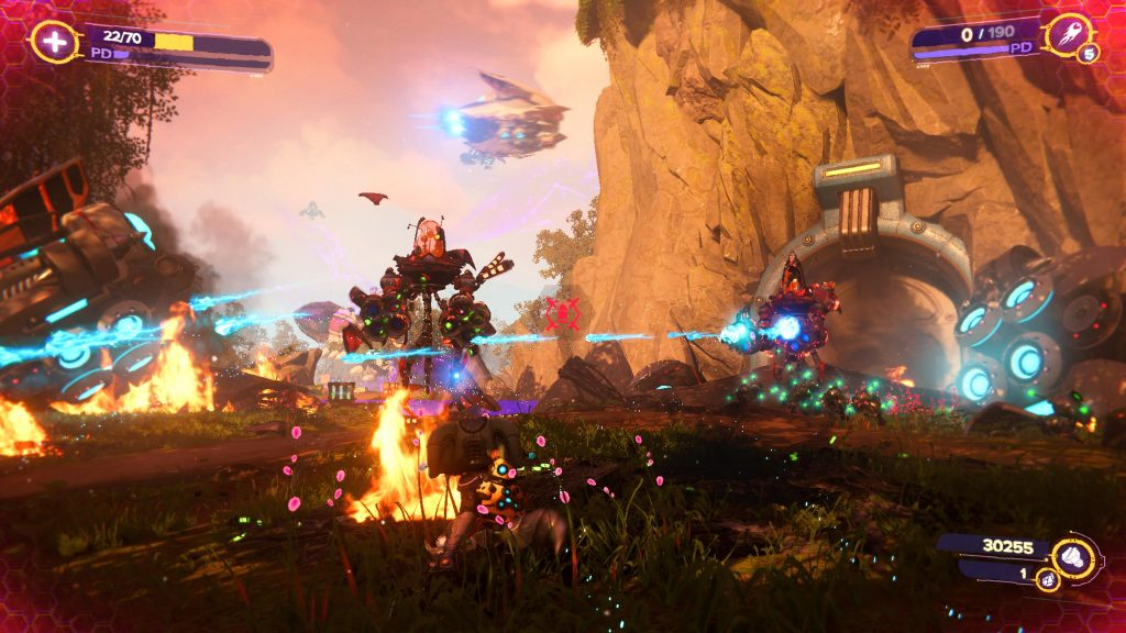 gameplay Ratchet and Clank Rift Apart