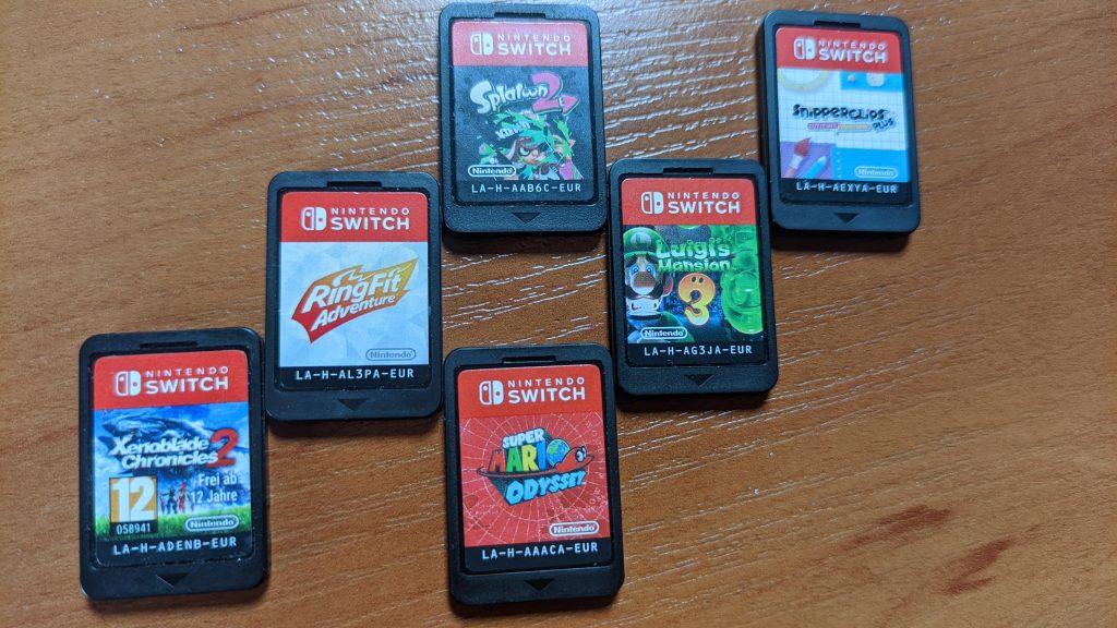 Kilka tytułów ekskluzywnych na Nintendo Switch