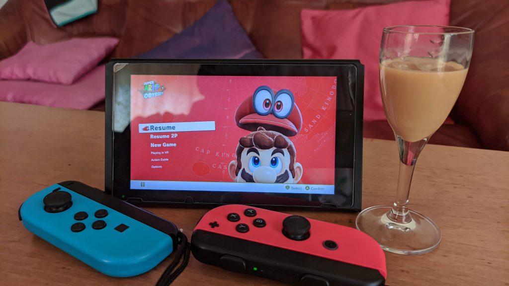 Nintendo Switch przenośne