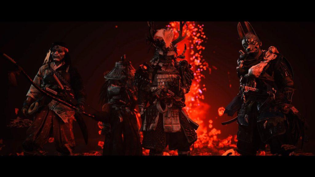 wojownicy ghost of tushima legends