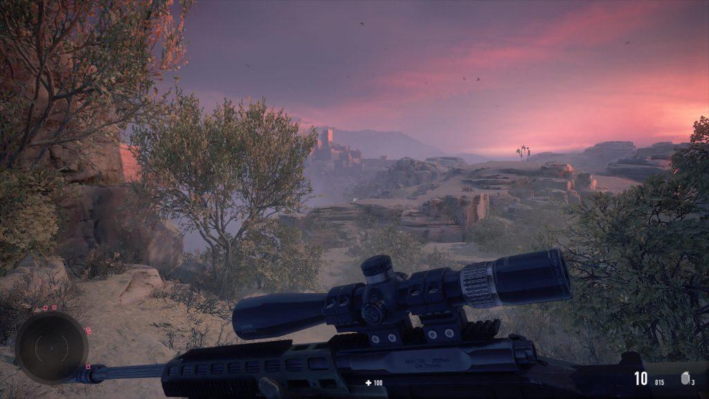 widok z pierwszej osoby w sniper ghost warrior contracts na ps5