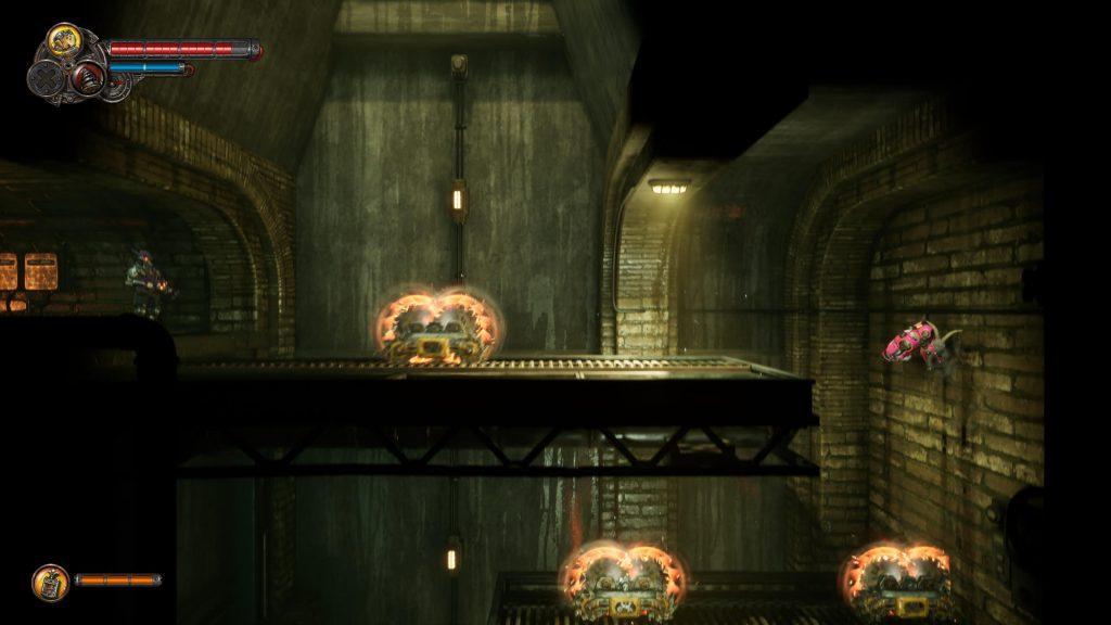 fragment zręcznościowy w F.I.S.T.: Forged In Shadow Torch
