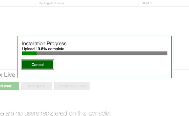 xbox series s instalowanie aplikacji