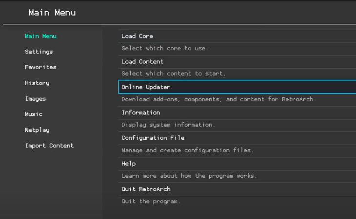 aktualizacja retroarch na xbox series s